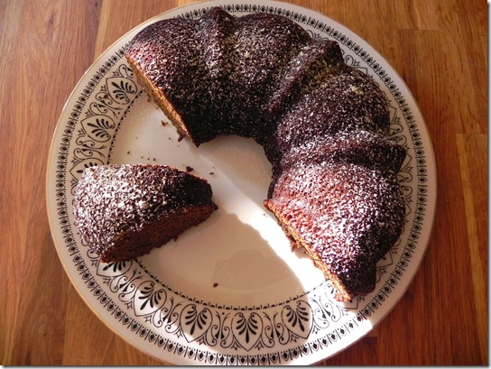 Vegan Black Sticky Gingerbread - Savoring Italy