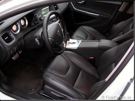Volvo V60 D5 R-Design Polestar 2012 Läder Framstolar