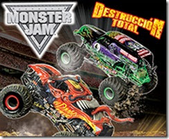 boletos  Monster Jam Destruccion Total ACMX 2014