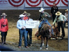 9795 Alberta Calgary Stampede 100th Anniversary - Cowboy Up Challenge Scotiabank Saddledome - 1st place winner