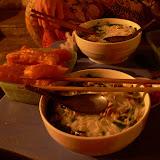 Premier repas local: la noodle soup ! Les bonnes habitudes ne changent pas !