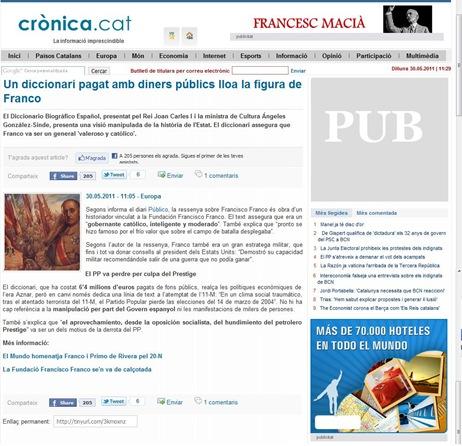 diccionari franco Cronica 300511
