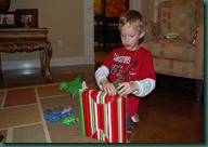 jack opening gifts