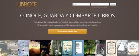 Librote-red social para hablar sobre Literatura