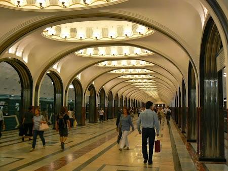 1Circuit Rusia: Metrou Moscova