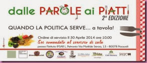 INVITO Dalle Parole ai Piatti - 2014