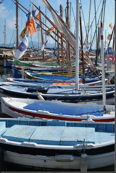 Sanary - himmelske båter
