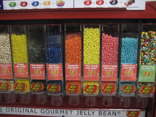 Pina Colada Jelly Beans?  Where's the Cabernet?