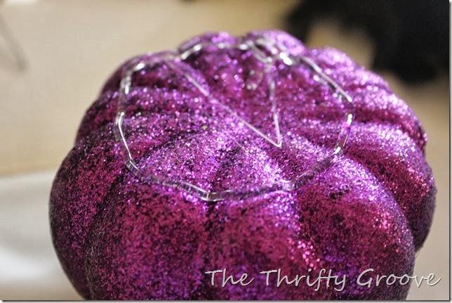 Topsy Turvy Glam Pumpkins