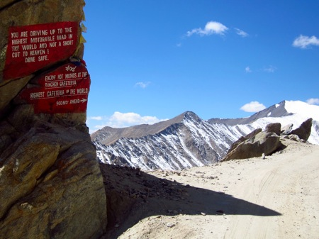 Day 15: Leh   Khardung La: The highest motorable pass in the world