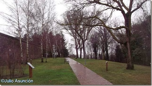 Jardín botánico de los depósitos de Mendillorri