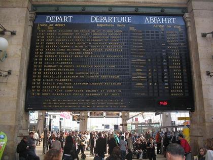 Gare du Nord, Paris 011