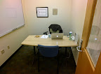 My interview room