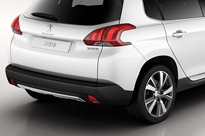 70157peu-3-Peugeot 2008 Urban Crossover (rear)