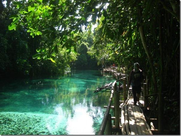 O Rio Encantado de Surigao, Filipinas (10)