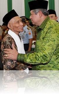KH Sahal dan SBY