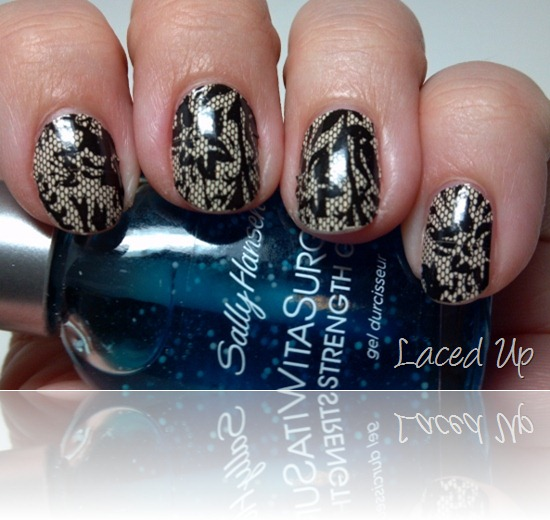 Sally Hansen Salon Effects in Laced Up