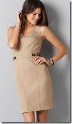 Ann Taylor Loft Sand Dress
