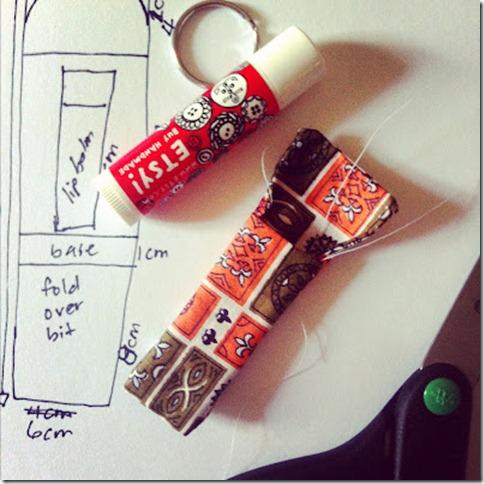 lip balm holder prototype