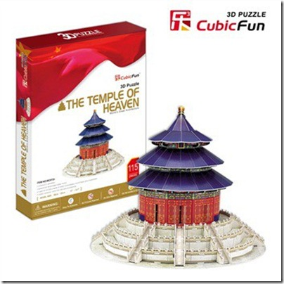 3D Puzzle Temple of Heaven 天壇