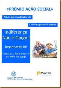 Cartaz Prémio de Acção Social - opção 1