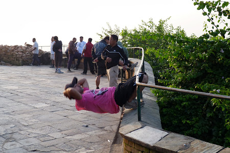 Gimnastica la Kathmandu