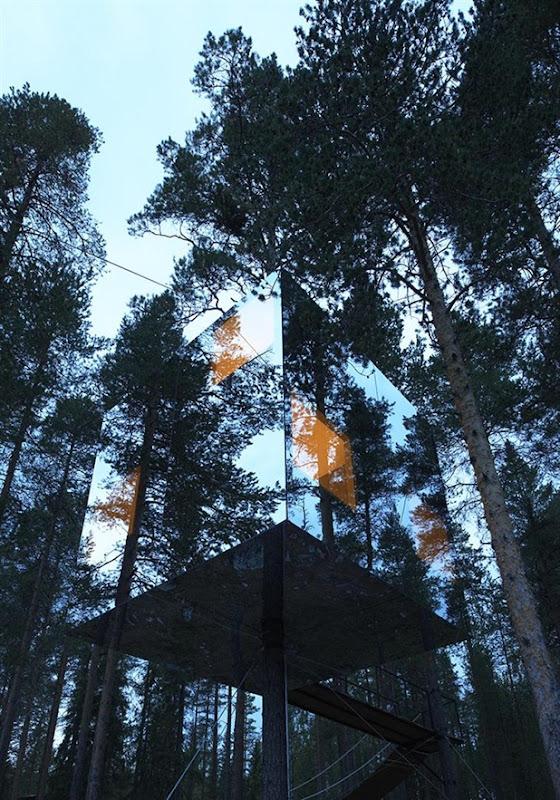tree hotel by tham & videgard arkitekter 3