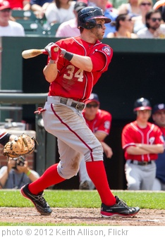 'Bryce Harper' photo (c) 2012, Keith Allison - license: http://creativecommons.org/licenses/by-sa/2.0/