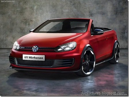 VW Golf GTI Cabriolet Concept1