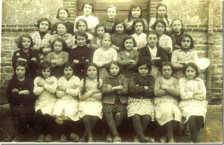 PHOTO CLASSE 1936 ecole filles treillieresrevu