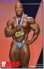 Phil Heath Mr Olympia 2013 winner