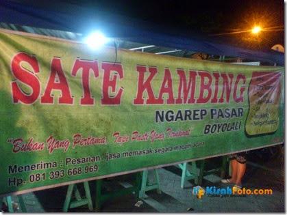 Sate Kambing Depan Pasar Boyolali Kisah Foto_01