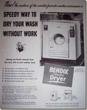 Bendix dryer ad 1948