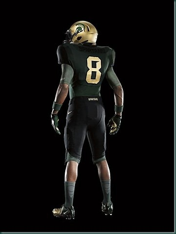 Michigan State football's new Nike Pro Combat uniforms