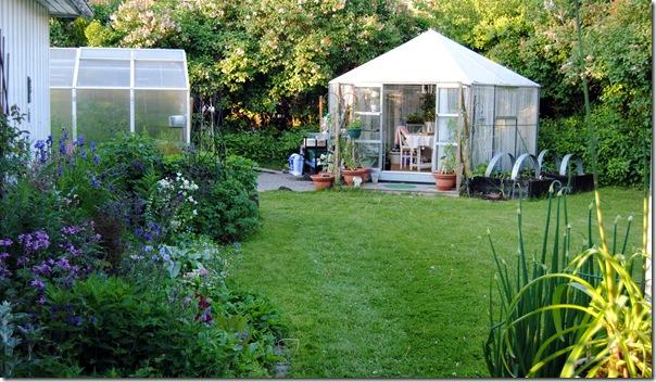 Botanisk hage og hagen i juni -12 037