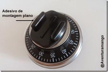 Temporizador com suporte plano GoPro