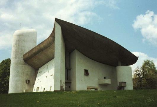 Ronchamp chapelle le Corbusier