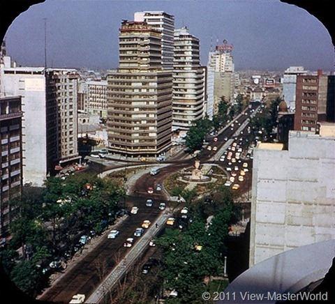 View-Master Mexico City (B002), Scene 6: Columbus Circle