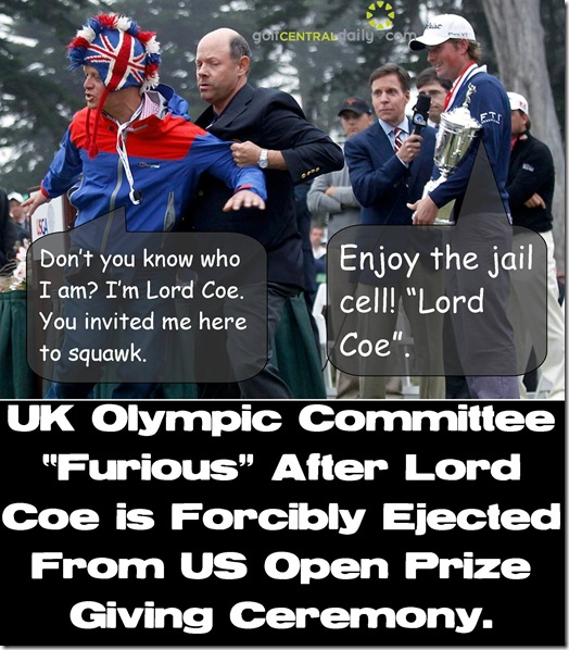 Union Jack hat Man Lord Coe funny