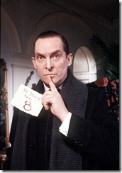 The Sign of Four 29 December 1987<br />Jeremy Brett as Sherlock Holmes<br /><br />Copyright Granada Television