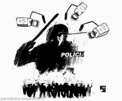 repressao policial