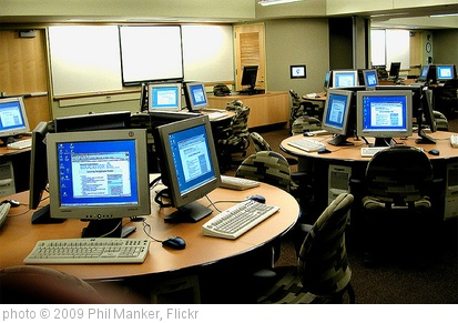 'Harvard HGSE Computer Tables' photo (c) 2009, Phil Manker - license: http://creativecommons.org/licenses/by/2.0/