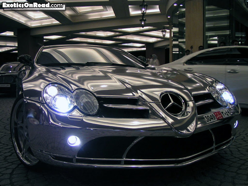 MERCEDES BENZ BODY FULLY BUILT IN WHITE GOLD - UAE