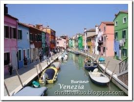 【Italy♦義大利】Venice 威尼斯離島 - Murano 玻璃島, Burano 蕾絲彩色島+超美味墨魚麵, Lido 影展島