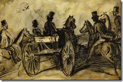 carriage-and-three-gentlemen-on-horses