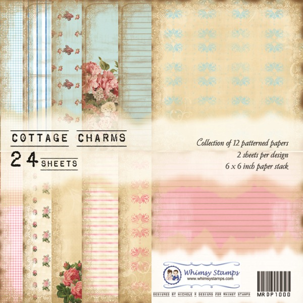 Cottage Charms Front Sheet