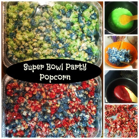 Super Bowl Party Popcorn