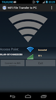 Screenshot of WiFi File Transfer to PC