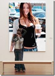 Fotomontajes en el Museo