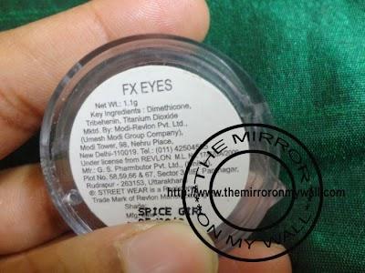 Street Wear FX Eyes Shadow In Spice Girl2.JPG
